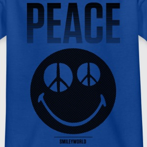 SmileyWorld Peace Smiley - Teenage T-shirt