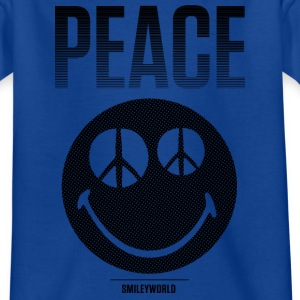 SmileyWorld Peace Friedlicher Smiley - Teenager T-Shirt