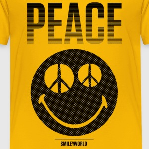 SmileyWorld Peace Smiley - Camiseta premium niño