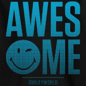 SmileyWorld Awesome - Teenage T-shirt
