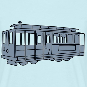 San Francisco Cable Car 2 T-Shirts - Men's T-Shirt