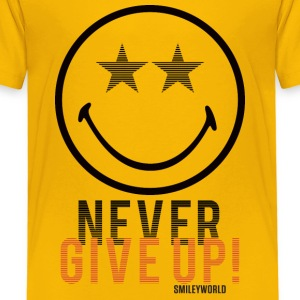 SmileyWorld N'Abandonne Jamais Never Give Up - T-shirt Premium Enfant