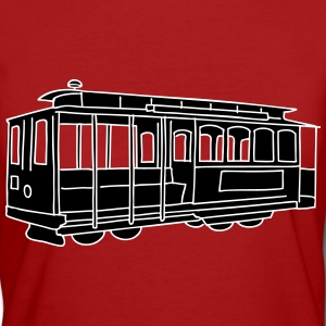 San Francisco Cable Car 2 T-Shirts - Frauen Bio-T-Shirt
