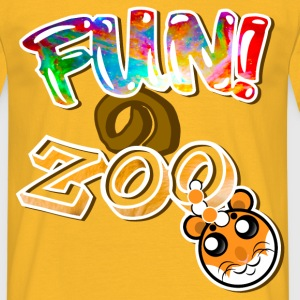 FUNのZOO HAMSTER (WHITE) - Men's T-Shirt