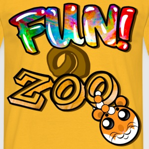 FUNのZOO HAMSTER (BLACK) - Men's T-Shirt