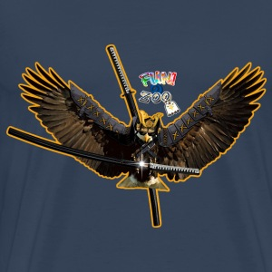 SAMURAI EAGLE ! (WHITE) - Men's Premium T-Shirt