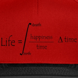 Life equation Caps & Hats - Snapback Cap