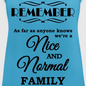 Remember we're a nice and normal family Ropa deportiva - Camiseta de tirantes transpirable mujer