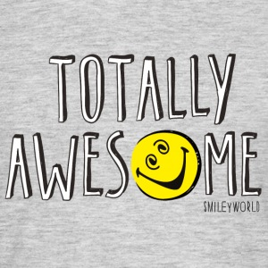 SmileyWorld Totally Awesome - Men's T-Shirt
