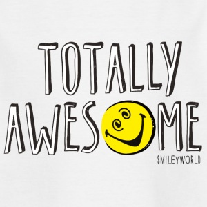 SmileyWorld Totally Awesome - Teenage T-shirt