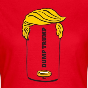 Dump Trump - Frauen T-Shirt
