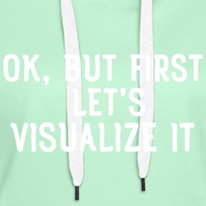 Ok, but first let's visualize it Bluzy - Bluza damska Premium z kapturem