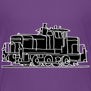 Diesel locomotive 2 Shirts - Teenage Premium T-Shirt
