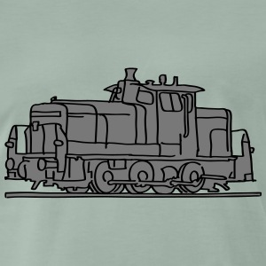 Diesel locomotive 2 T-Shirts - Men's Premium T-Shirt