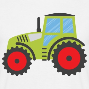 Big Green Tractor - Men's T-Shirt