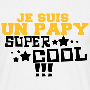 Un papi super cool - T-shirt Homme