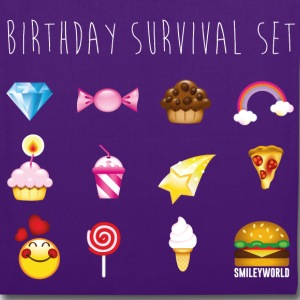 SmileyWorld Birthday Survival Set - Stoffbeutel