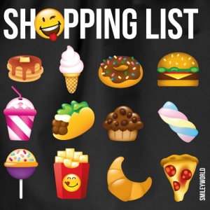 SmileyWorld Shopping List - Turnbeutel