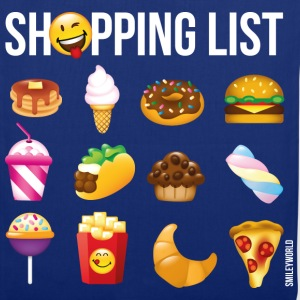 SmileyWorld Shopping List - Torba materiałowa