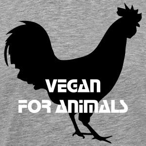 Vegan statement t-shirt - Men's Premium T-Shirt