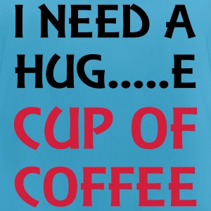 I need a hug...e cup of coffee Sportbekleidung - Frauen Tank Top atmungsaktiv