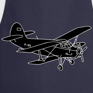 Biplane 2  Aprons - Cooking Apron