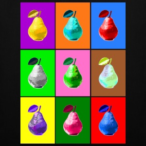 Pop Art Birne, Pop Art Pear Sacs et sacs à dos - Tote Bag