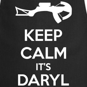 Keep Calm It's Daryl Tabliers - Tablier de cuisine