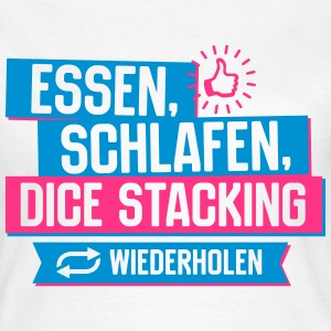 Hobby Dice Stacking T-Shirts - Frauen T-Shirt
