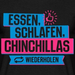 Hobby Chinchillas T-Shirts - Männer T-Shirt