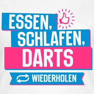 Hobby Darts T-Shirts - Frauen T-Shirt