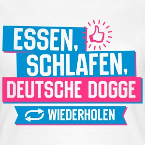 Hobby Deutsche Dogge T-Shirts - Frauen T-Shirt