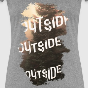 outside T-Shirts - Frauen Premium T-Shirt