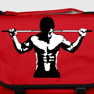 Weightlifting Muscle Sports Art Design Bags & Backpacks - Shoulder Bag
