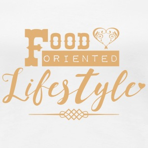 Food oriented Lifestyle T-Shirts - Women's Premium T-Shirt