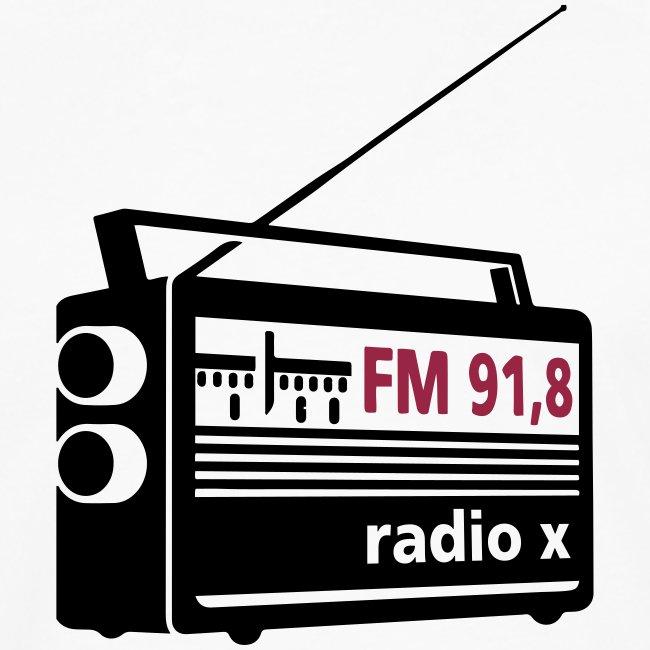 radio x - schwarz