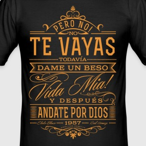 Andate por dios - Men's Slim Fit T-Shirt