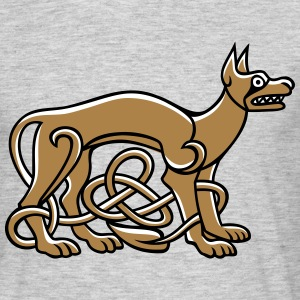 Celtic Dog - Männer T-Shirt