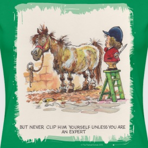 Thelwell Pony - Dame premium T-shirt