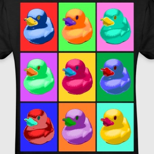 Pop Art Ente, Pop Art Duck T-Shirts - Kinder Bio-T-Shirt