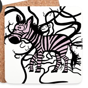 Zebra and Tapejams Mugs & Drinkware - Coasters (set of 4)