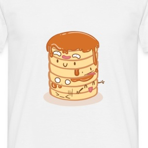White Pancake Party T-Shirts - Men's T-Shirt
