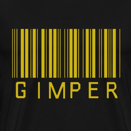 GIMPER mit Barcode