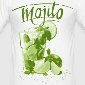 MOJITO T-Shirts - Männer Slim Fit T-Shirt