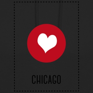 I Love Chicago Hoodies & Sweatshirts - Unisex Hoodie