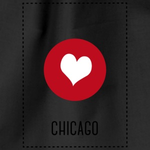 I Love Chicago Bags & Backpacks - Drawstring Bag