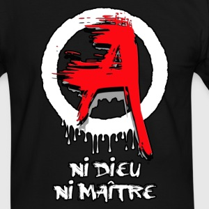 Anarchie - anarchy 01 Tee shirts - T-shirt contraste Homme