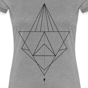 Some Geometry - Frauen Premium T-Shirt