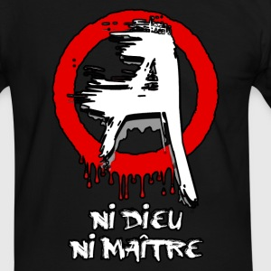 Anarchie - anarchy 02 Tee shirts - T-shirt contraste Homme