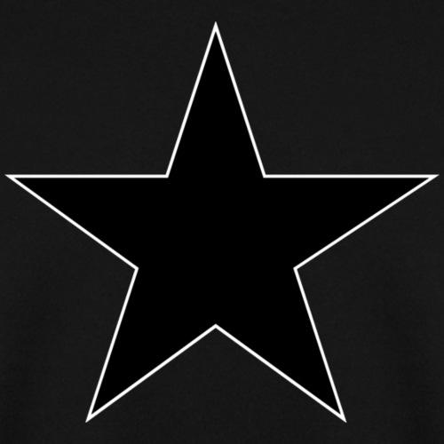 Anarchie Stern - schwarz
